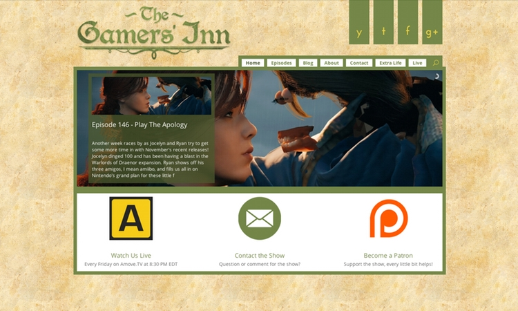 The Gamers' Inn Home Page