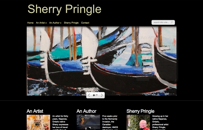 Sherry Pringle Home Page