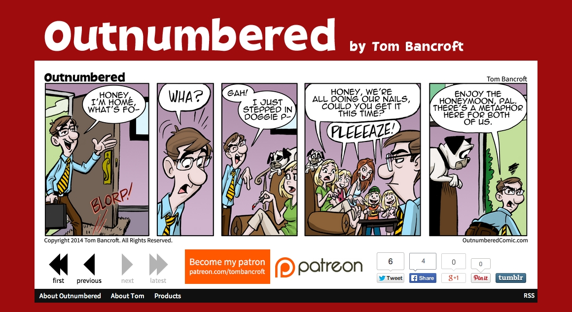 Outnumbered Comic