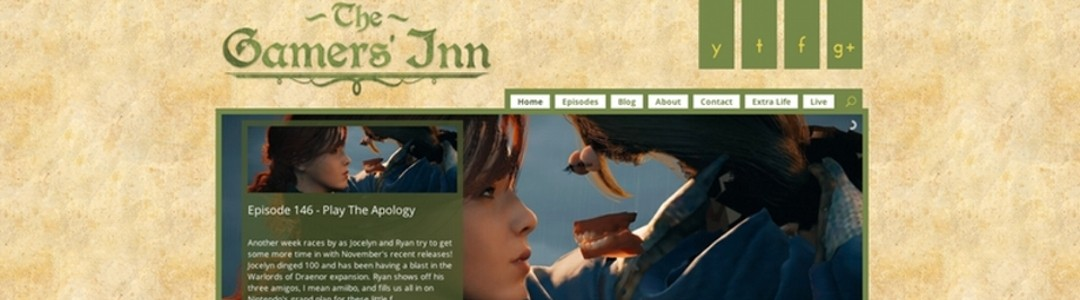 Gamers' Inn Website Levels Up!