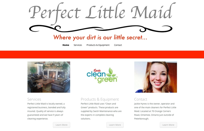 Perfect Little Maid Home Page