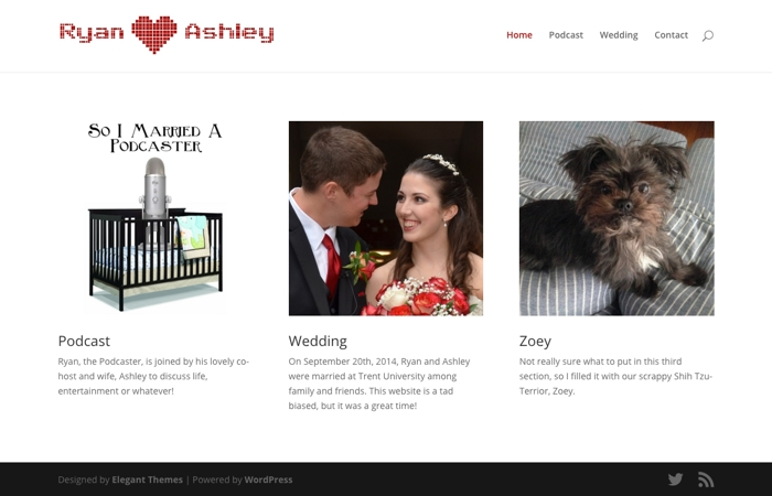 Ryan & Ashley Home Page