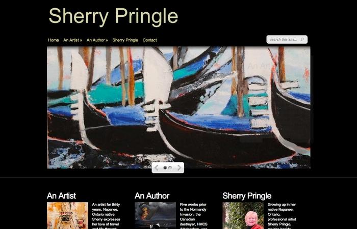 Sherry Pringle Home Page