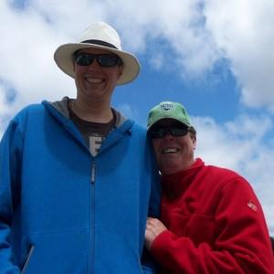 Ryan and Dad at Peterborough Dragon Boat Festival
